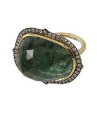 Sylva & Cie - Green Thorn Shape Emerald Ring - Lyst