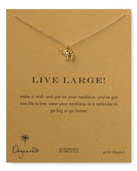 Dogeared | Metallic Live Large Necklace 16 | Lyst