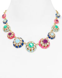 kate spade new york | Multicolor Puttin On The Ritz Statement Necklace 18 | Lyst