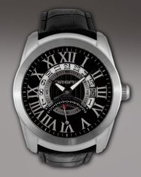 Orefici Watches - Black Classico World-time Watch for Men - Lyst