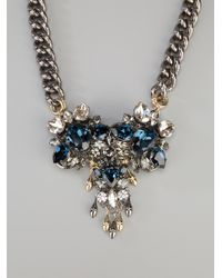 Anton Heunis - Metallic Swarovski Crystal Necklace - Lyst