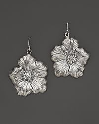 Buccellati | Blossom Medium Drop Flower Earrings | Lyst