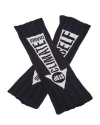 Vivienne Westwood - Blue Do It Yourself Gloves - Lyst