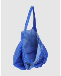 Gas - Blue Large Fabric Bag - Lyst