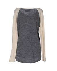 Leon & Harper - Gray Sweater - Lyst