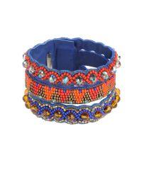 Deepa Gurnani - Blue Bracelet - Lyst