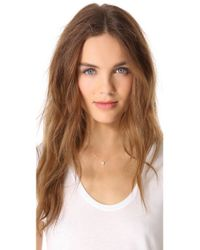 Ginette NY - Metallic Diamond Star Necklace - Lyst