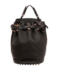 Alexander Wang   Black Small 'diego' Bucket Shoulde Bag   Lyst