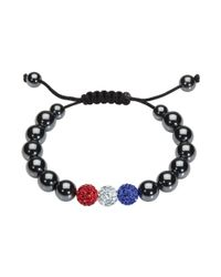 Kit Heath | Black Shamballa Bracelet | Lyst