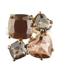 Dyrberg/Kern | Metallic Kiramia Gold Sand Ring | Lyst
