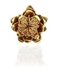 Mary Portas | Metallic Flower Ring | Lyst