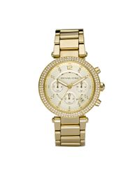 Michael Kors | Metallic Parker Glitz Watch | Lyst