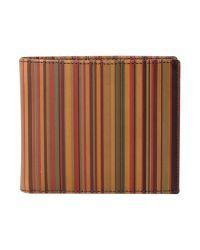 Paul Smith | Multicolor Striped Wallet for Men | Lyst