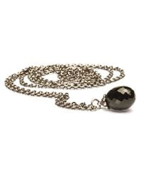 Trollbeads | Metallic Fantasy Black Onyx Pendant Necklace | Lyst
