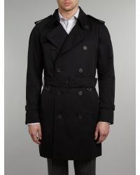 Aquascutum   Black Corby Double Breasted for Men   Lyst