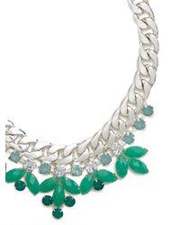 BaubleBar   Metallic Mint Laurel Curb Collar   Lyst