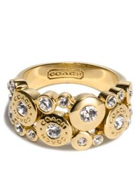COACH | Metallic Multi Snap Ring | Lyst