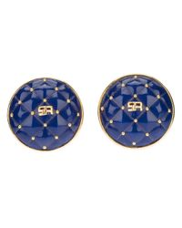 Sonia Rykiel | Blue Clip On Earrings | Lyst