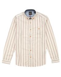 Ted Baker - Natural Beengud Vertically Striped Shirt for Men - Lyst