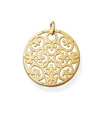 Thomas Sabo | Yellow Special Addition Large Arabesque Disc | Lyst