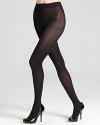 Calvin Klein - Black Tights Ultra Opaque - Lyst