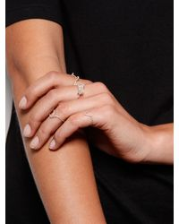 Five And Two - Metallic Sterling Silver Vitals Ring - Lyst