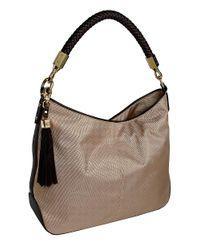 JPK Paris - Brown Nika Ballistic Nylon Hobo Bag - Lyst