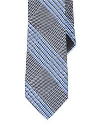Lauren by Ralph Lauren - Gray Prince Of Wales Printed Silk Tie for Men - Lyst