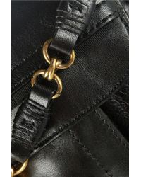 Nina Ricci - Black Leather Shoulder Bag - Lyst