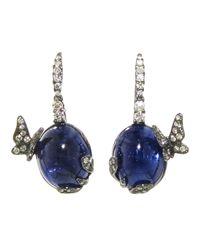 Arunashi | Purple Tanzanite Butterfly Earring | Lyst