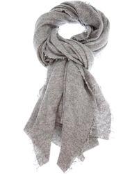 Faliero Sarti | Gray Chiarina Cashmere-silk Blend Scarf | Lyst