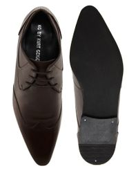 G-Star RAW - Brown Chase Wingcap Shoes for Men - Lyst