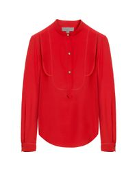 Mulberry | Red Tuxedo Shirt | Lyst
