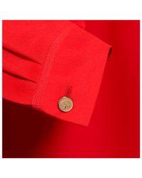 Mulberry | Red Tuxedo Shirt | Lyst
