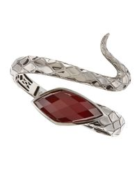 Stephen Webster | Metallic Raspberry Quartz Snake Bracelet | Lyst