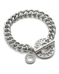 COACH | Metallic Toggle Bracelet | Lyst