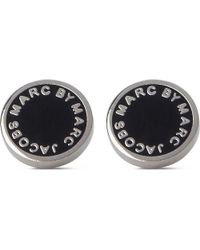 Marc By Marc Jacobs - Metallic Classic Logo Disc Studs - Lyst