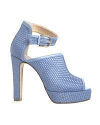 Bionda Castana | Cornflower Blue Christa Sandals  | Lyst