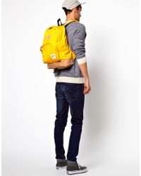 ASOS - Yellow Drifter Sunny Backpack for Men - Lyst