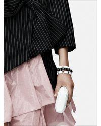 J.W.Anderson - Black White Mondrian Bracelet By - Lyst