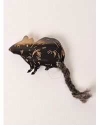 J.W.Anderson - Black Small Rat Brooches By - Lyst