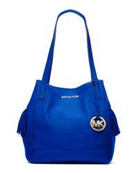 Michael Kors | Blue Large Ashbury Grab Bag | Lyst