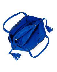Michael Kors   Blue Large Ashbury Grab Bag   Lyst