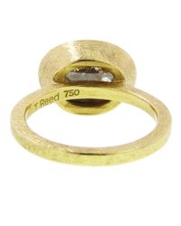 Todd Reed | Metallic Oval Solitaire Diamond Ring | Lyst