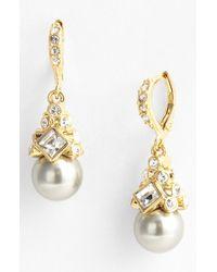 Givenchy   Metallic Drop Earrings   Lyst