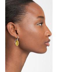 Gurhan | Metallic Jordan Two Tone Drop Earrings | Lyst
