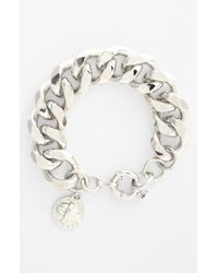 Marc By Marc Jacobs | Metallic Large Link Bracelet | Lyst