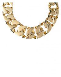 AllSaints - Metallic Valtari Necklace - Lyst