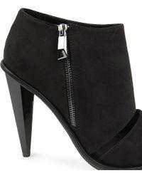 KG by Kurt Geiger - Black Closed Fauxsuede Shoe Boots - Lyst