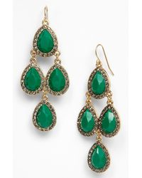 Tasha | Green Kite Earrings | Lyst